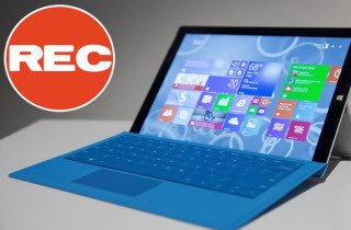 surface pro recorder