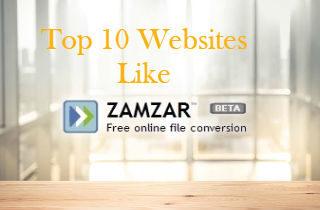 Top 10 Websites Like Zamzar.com
