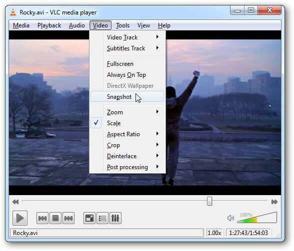 Snapshot VLC