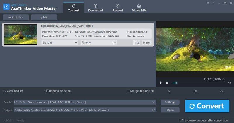 video master add