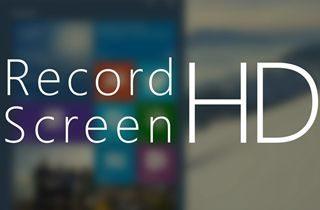 Melhor 10 Gravador de tela HD Para Gravar vídeo Em HD