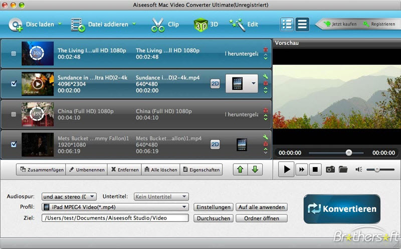 aiseesoft mac video converter