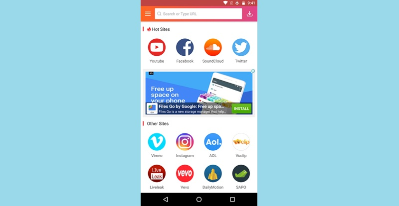 instube android app