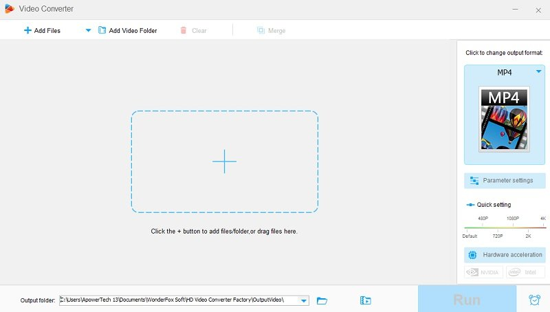 hdvideoconverterfactory interface