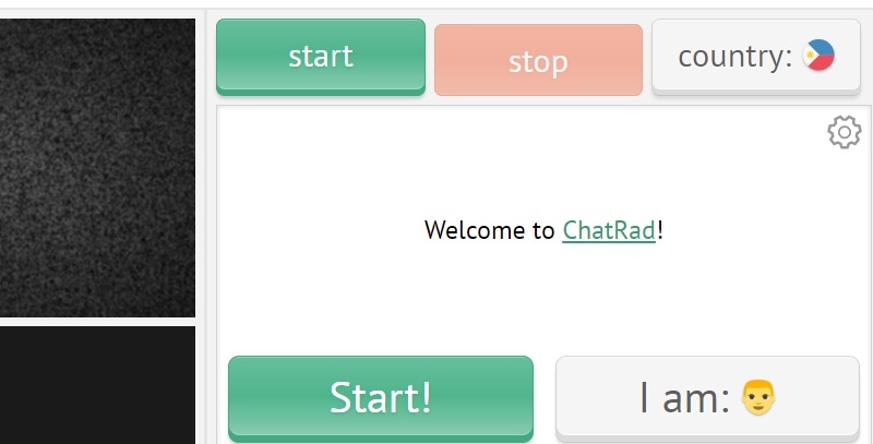 chatrad interface
