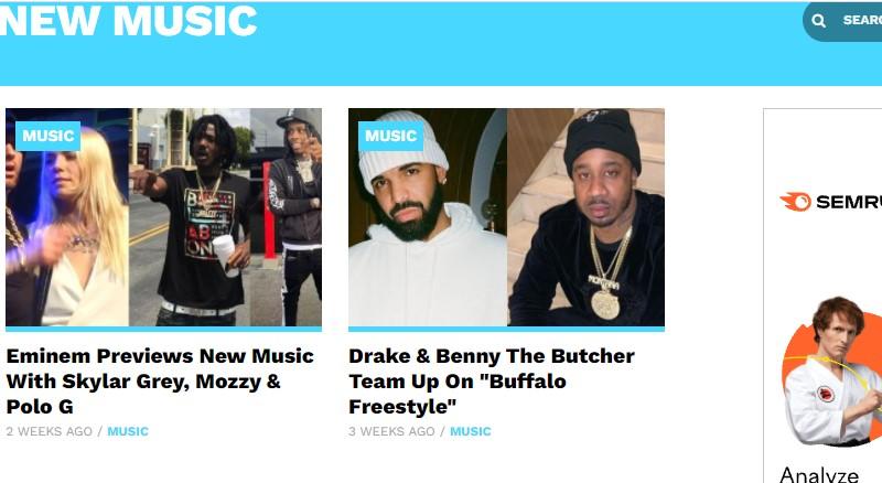 sites like dopehood hiphop lately