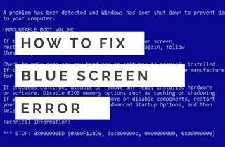 Beheben Sie den Bluescreen-Fehler