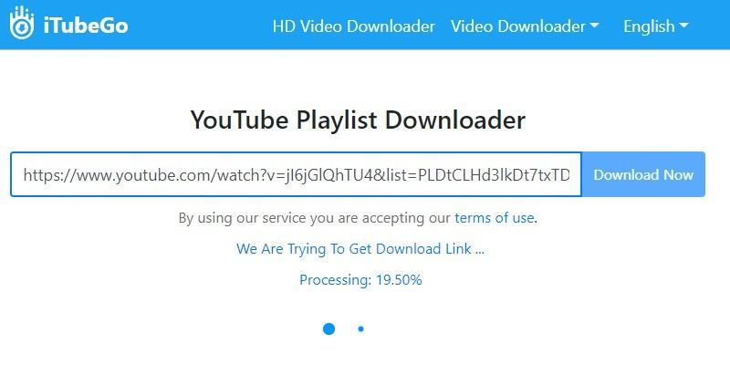 Herunterladen der YouTube-Wiedergabeliste mit keepvid pro