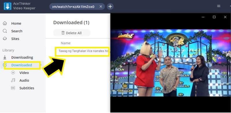 download facebook video vk step3