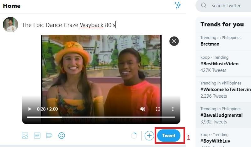 Tweet Video