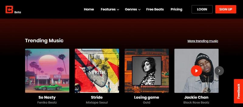 Websites wie Soundcloud 3