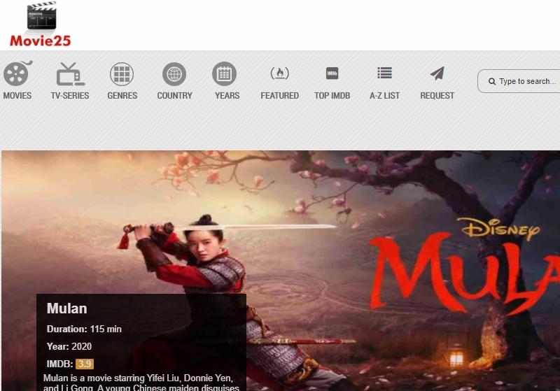 sites like megashare movie25