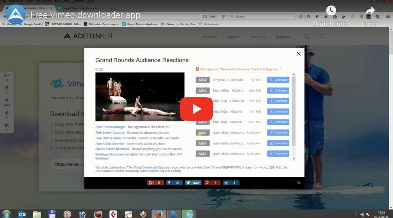vimeo downloader video guide