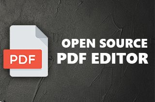 Top 8 Open Source PDF Editor