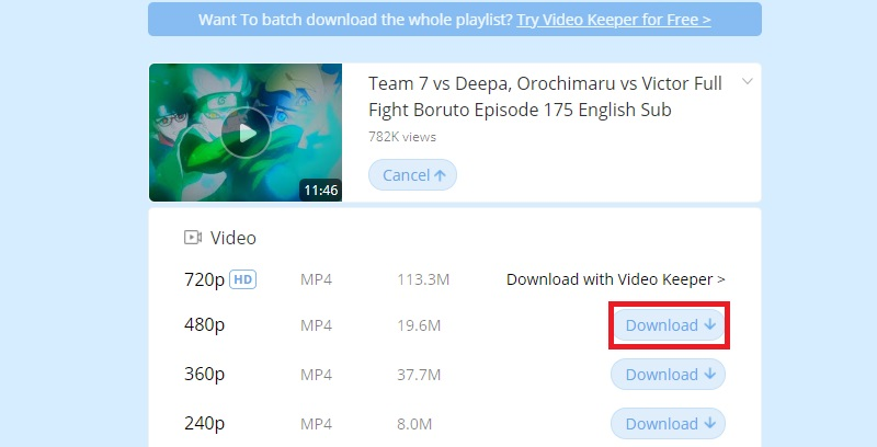 fovd choose quality dailymotion