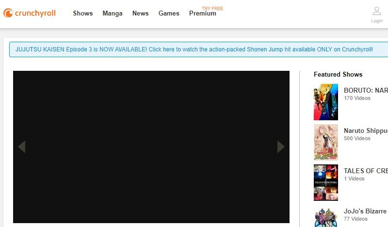 sites like videosurf crunchyroll