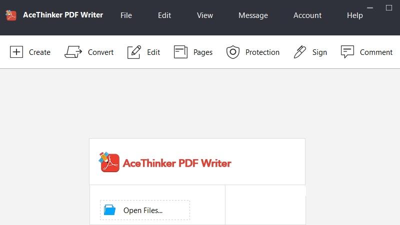 pdf writer interface