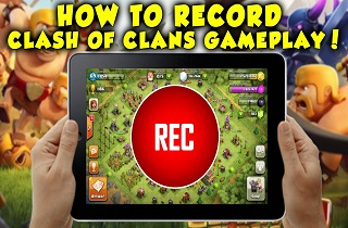 How to Record Clash of Clans Game