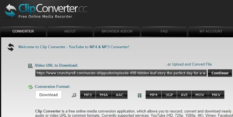 clipconverter download crunchyroll