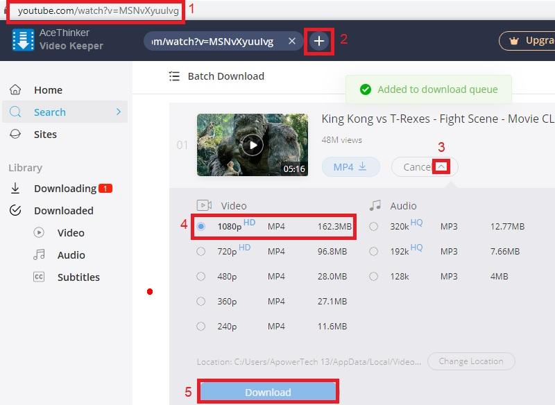 vk download youtube1080p