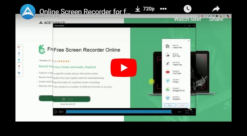 free screen recorder online thumbnail