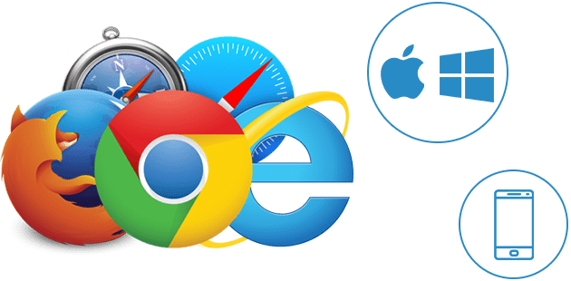 browsers supported by online apps