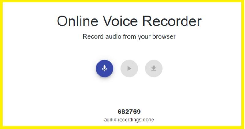 chrome audio recorder online voice recorder