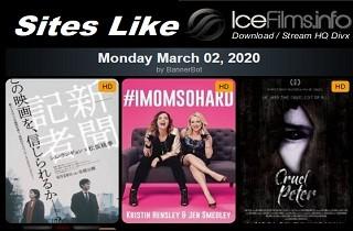 sites like icefilms