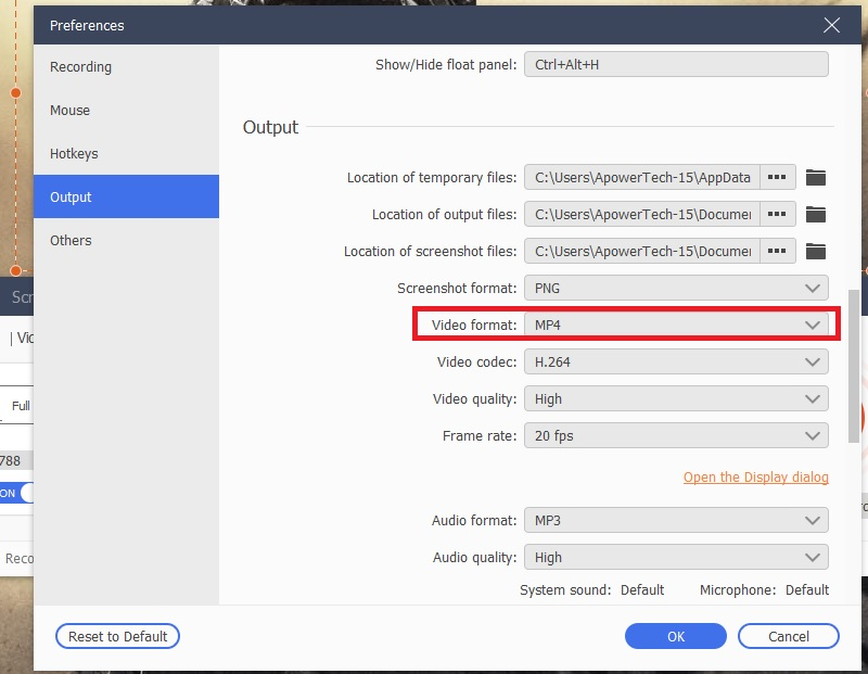 screenr alternative sgpremium settings