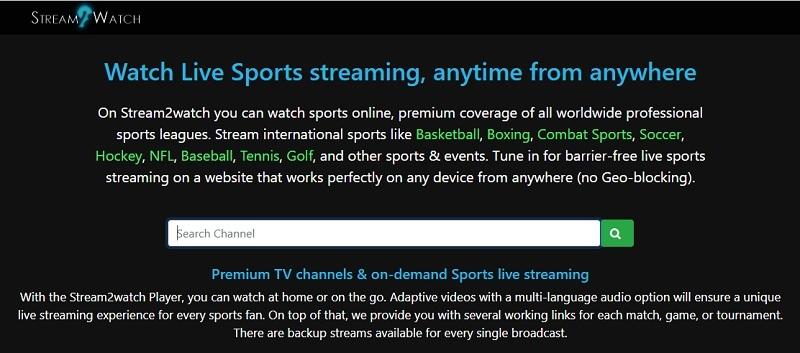 cricfree alternative stream watch