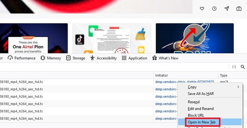 download embedded video browser