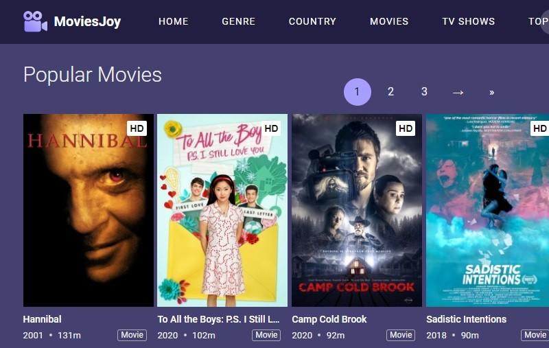 moviesjoy interface
