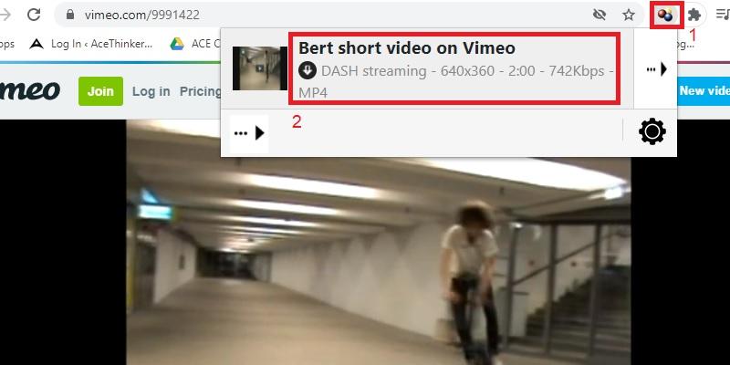 vdhelper download embedded video