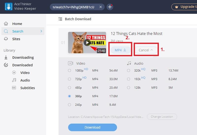 downloadhelper alternatives vk step3