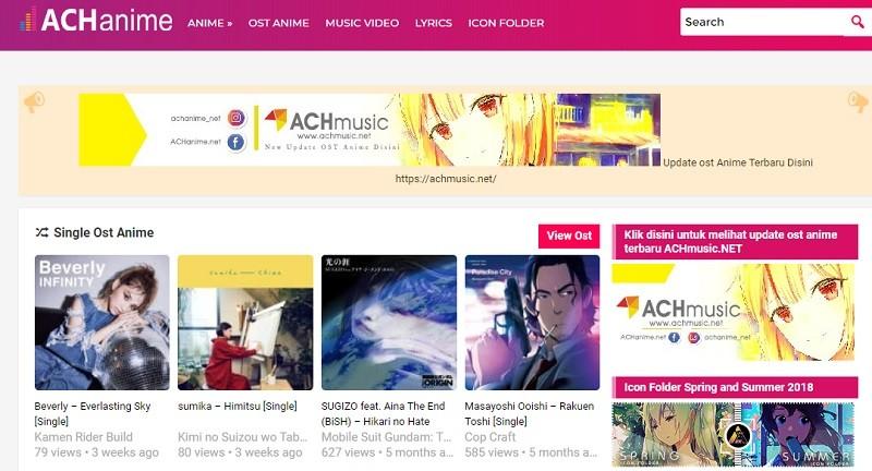 achanime interface