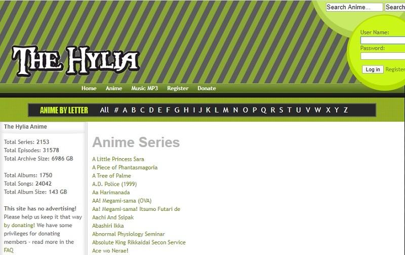 hylia interface
