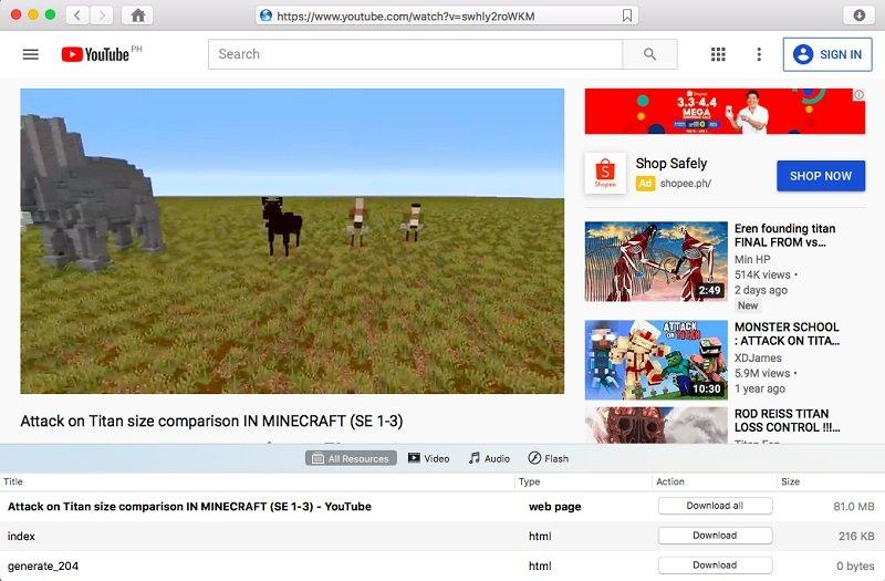 videoduke browser video downloader