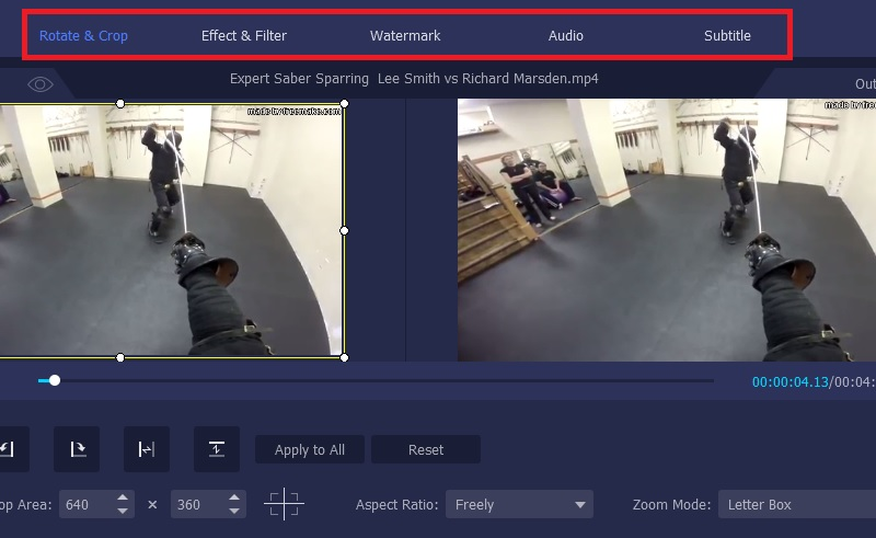 vmp editing feature