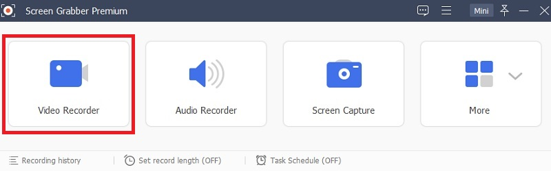 record browser sgpremium main interface