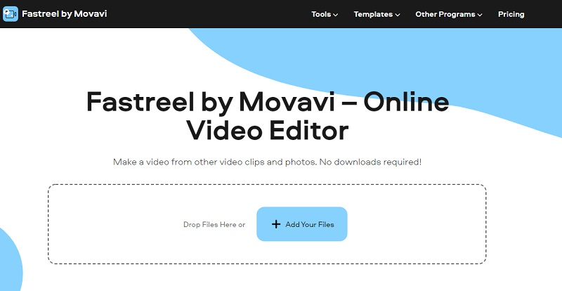 video editor without watermark fastreel