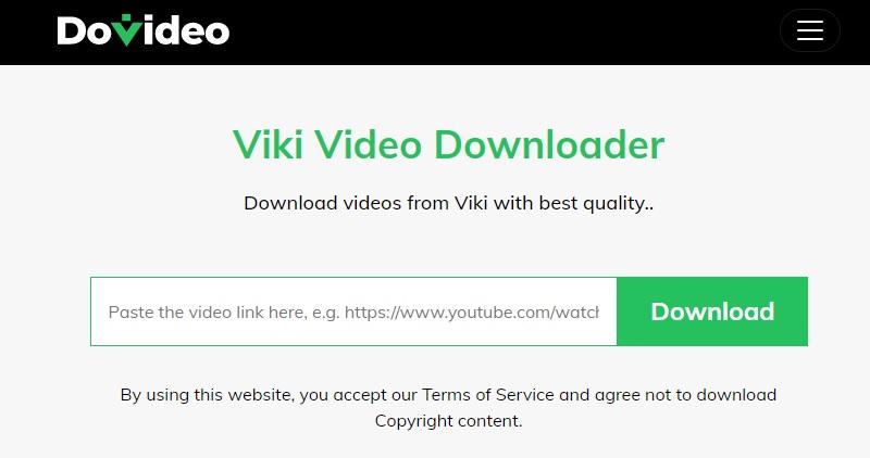 ViKi Downloader Video