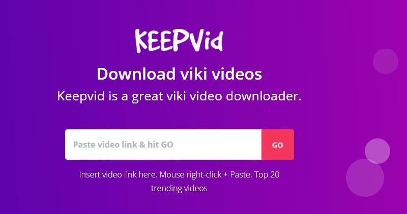 ViKi Downloader keepvid