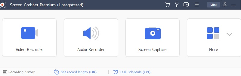 record screen with audio step 1