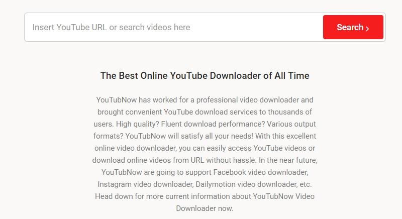 best chrome video downloader youtubnow