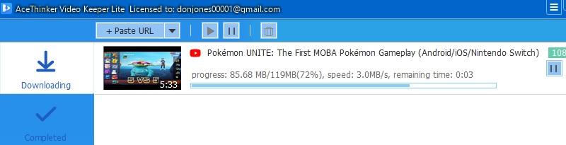 vklite downloading