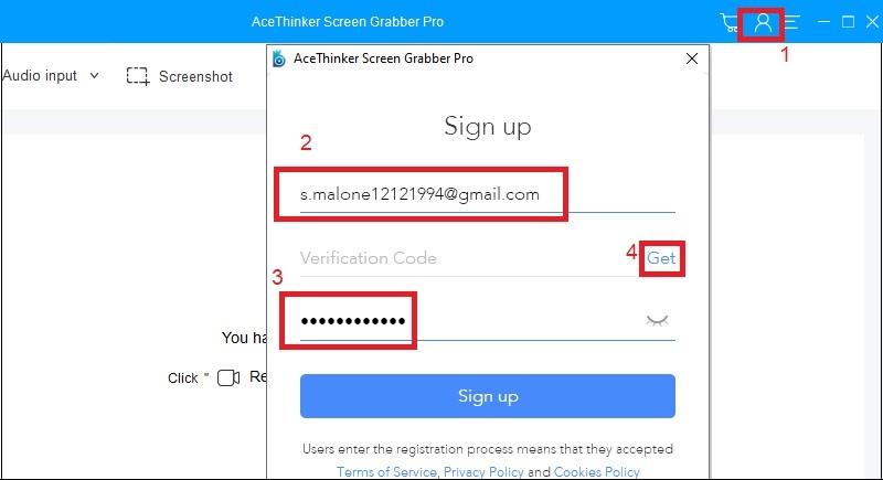 sgp-Registrierungsfenster Schritt2