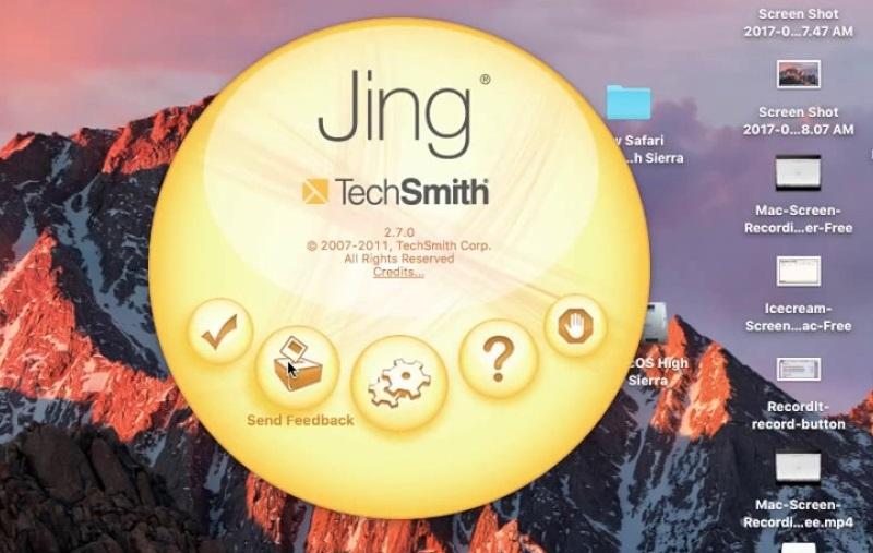 best screen recorder mac jing