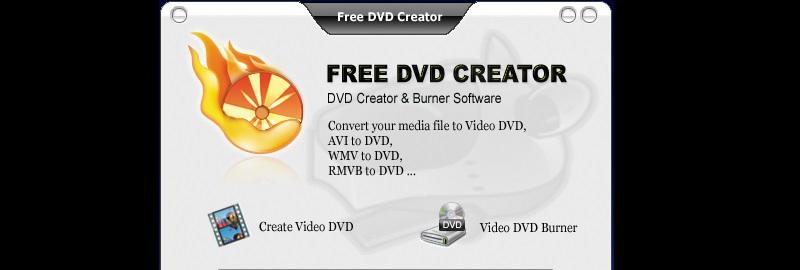 free dvd creator interface