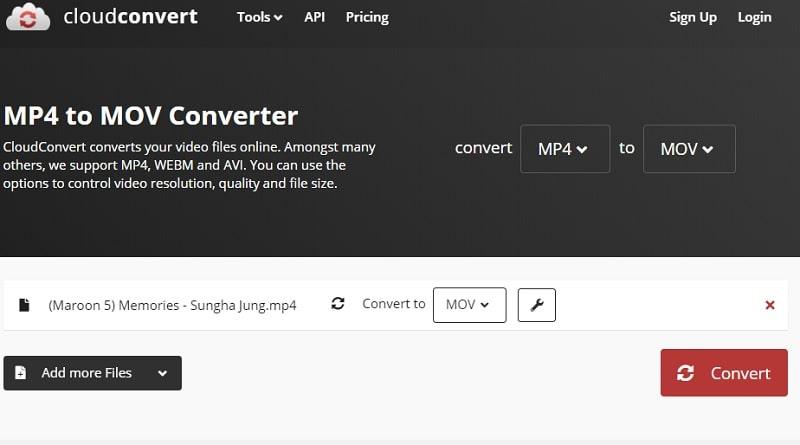 interface cloud convert
