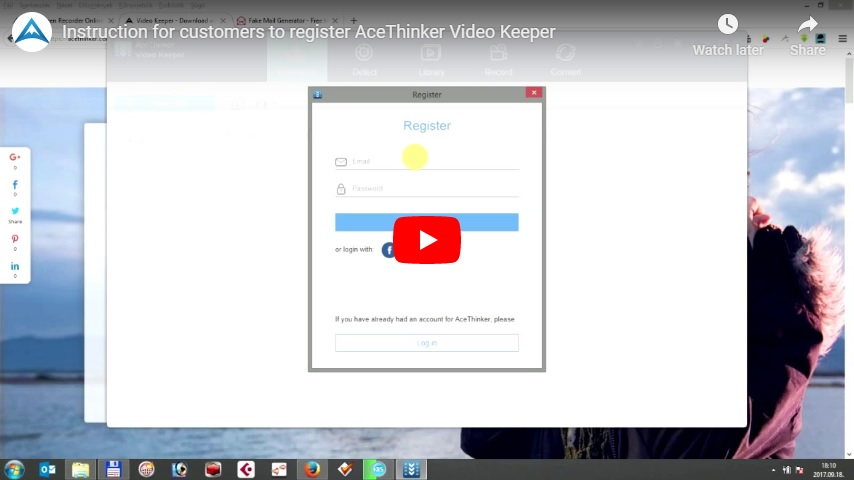 register video keeper
